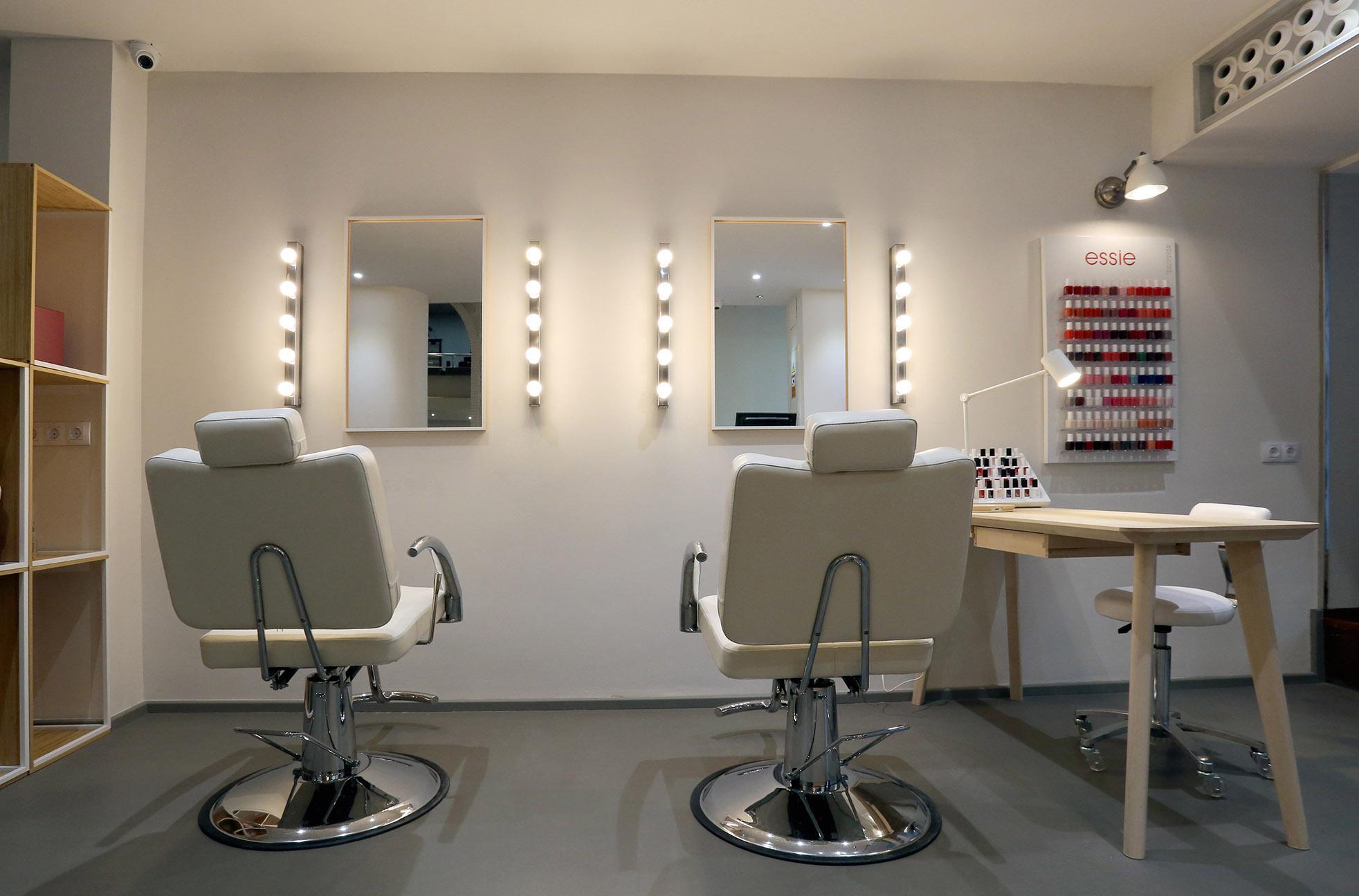 Estudio deluxe voga transformaci n de un espacio - Salones de peluqueria decoracion fotos ...